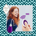 FeelzToys-Anna-Vibrerend-Ei-Remote-Paars