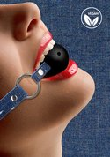Breathable-Ball-Gag-With-Roughend-Denim-Straps-Blue